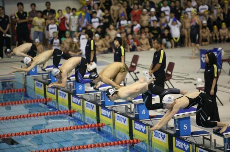 La mejor rutina para mejorar tu salida en una competición de natación