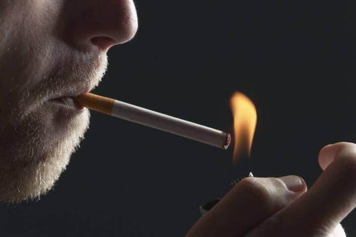 Olor a cigarrillos en el trabajo
