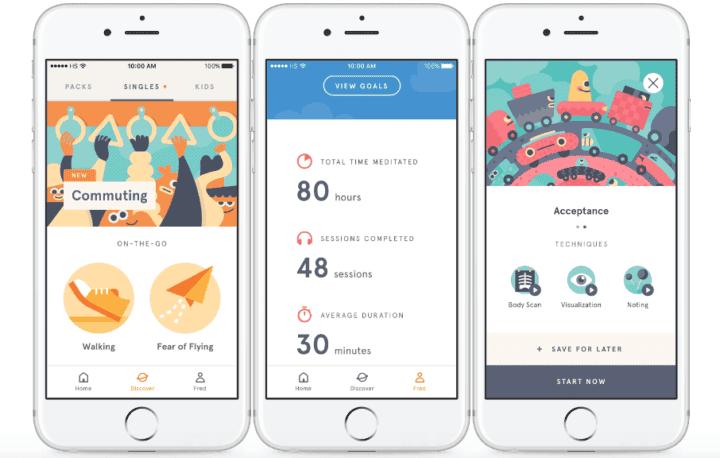 Aplicaciones desarrolladas para combatir la ansiedad