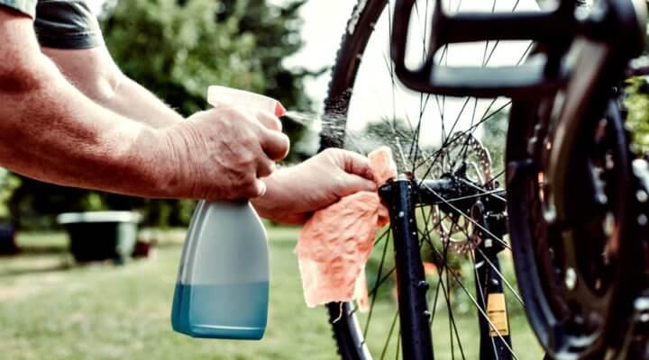 Aprender a limpiar correctamente tu bicicleta