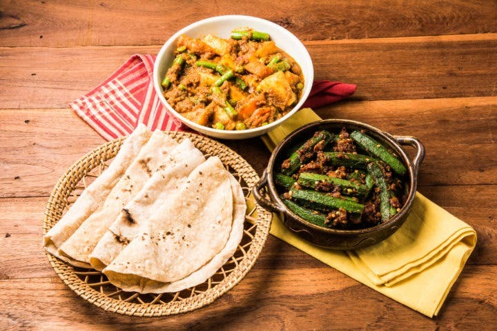 Plan de comidas de dieta india para perder grasa