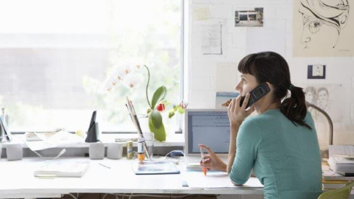 ¿Cómo concentrarte correctamente en una llamada telefónica?