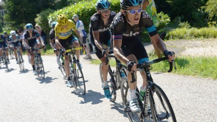 Reglas para montar en bicicleta con otros compañeros