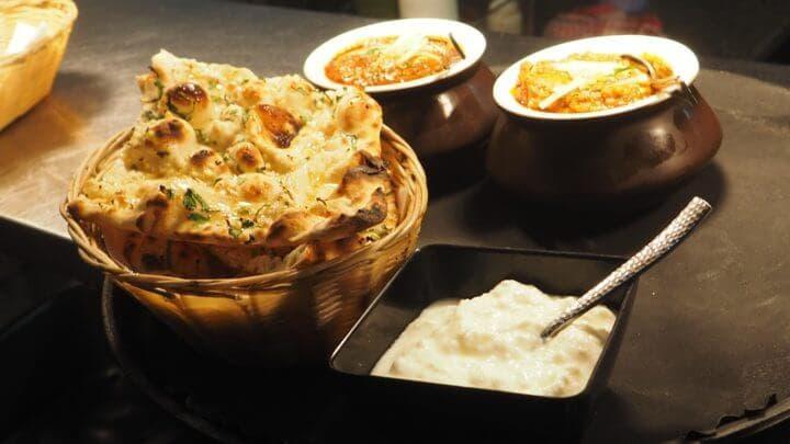 Plan dietético de comida india para bajar de peso