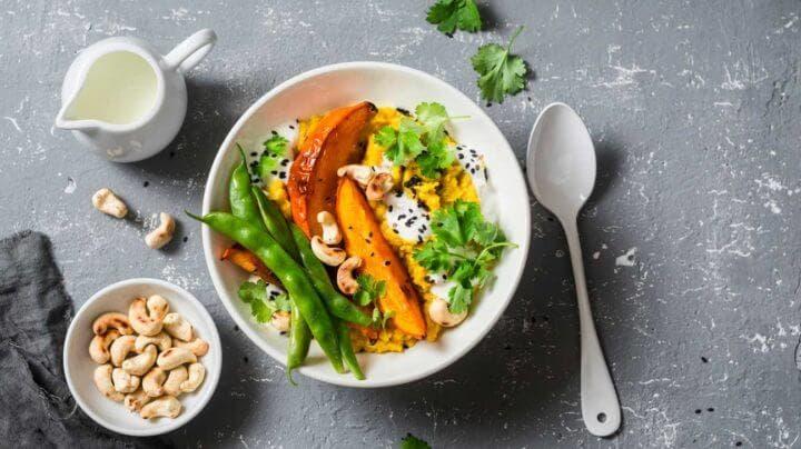 Alimentos básicos incluidos en la dieta india