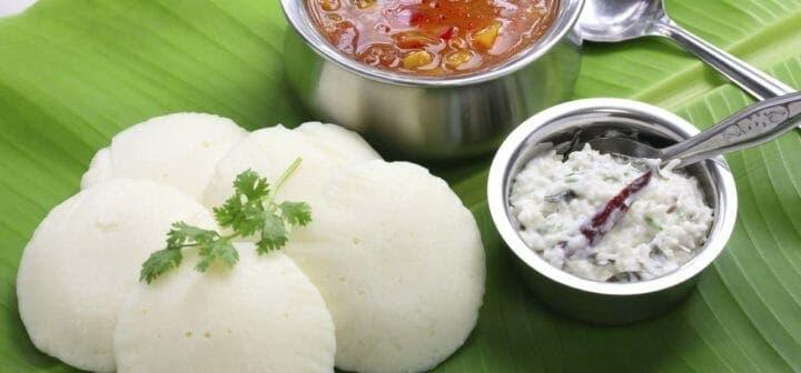Ejemplo de menú de comida india saludable
