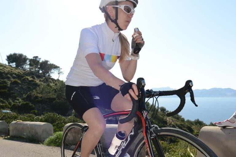 QUé snacks llevar cuando montes en bicicleta