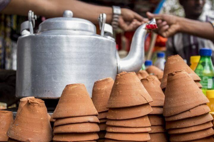 La dieta india recomienda acompañar los alimentos con tés tradicionales