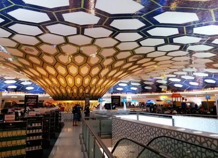 Aeropuerto más extravagante de los Emiratos Árabes