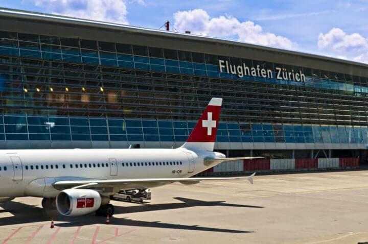 Lujos del aeropuerto Kloten en Zurich