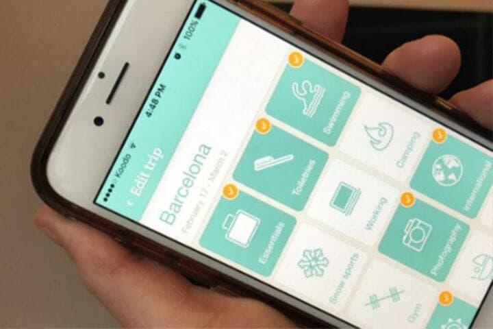 App para conocer tiempo meteorológico de lugar de viaje