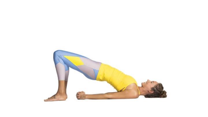 ¿Qué beneficios tiene la pose del puente en yoga?