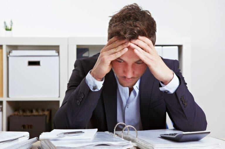 La principal causa de depresión en un trabajo de oficina