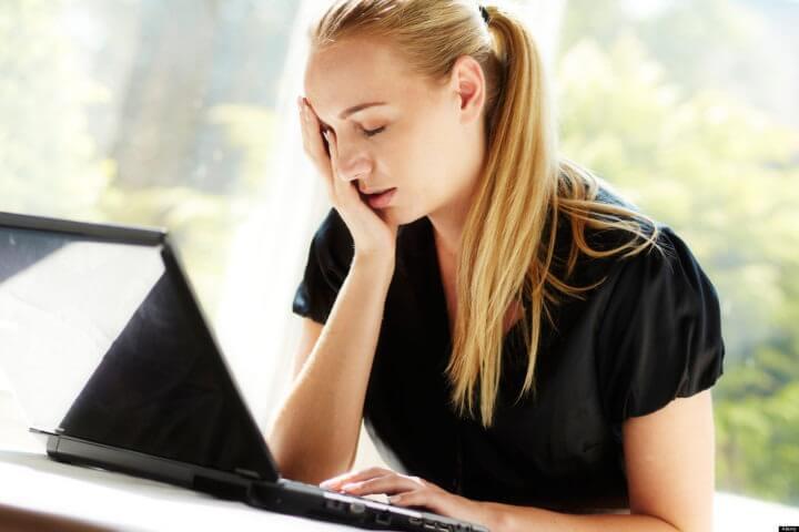 Principal motivo de depresión laboral