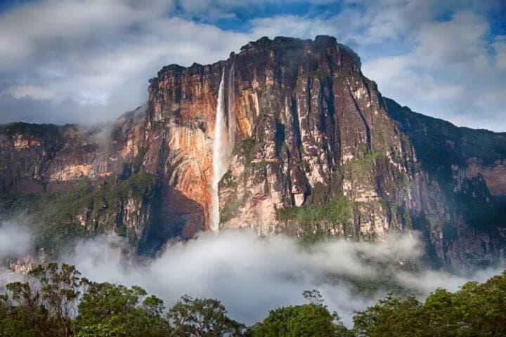 La catarata más alta del mundo