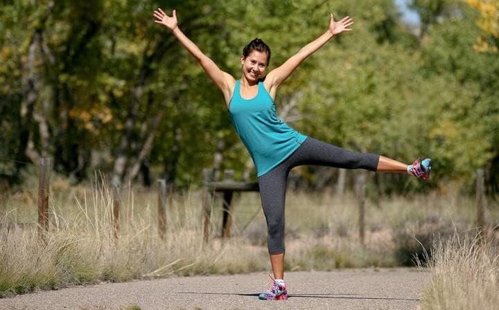 Hacer ejercicios al aire libre es más motivante