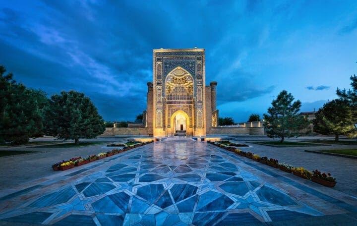 Sitios a los que deberías ir en Uzbekistán
