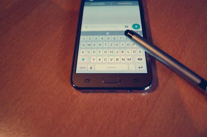 SwiftKey se puede utilizar como teclado inteligente