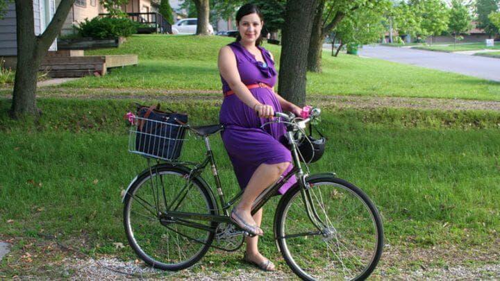 ¿Las embarazadas pueden practicar ciclismo?