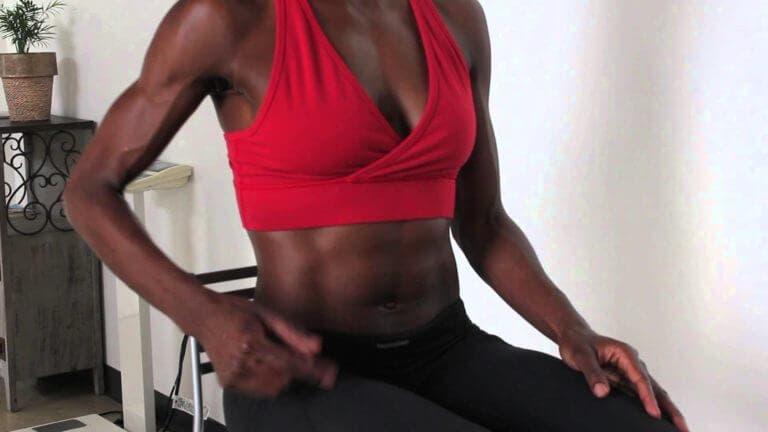 Ejercicios para endurecer el core mientras estás sentado