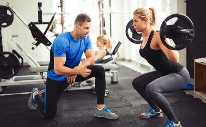 Importancia del entrenador en el gimnasio