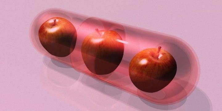 Tomar pastillas de vinagre de sidra de manzana