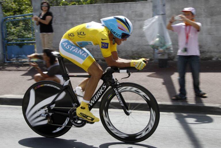 Cómo emplear la aerodinámica dentro del ciclismo