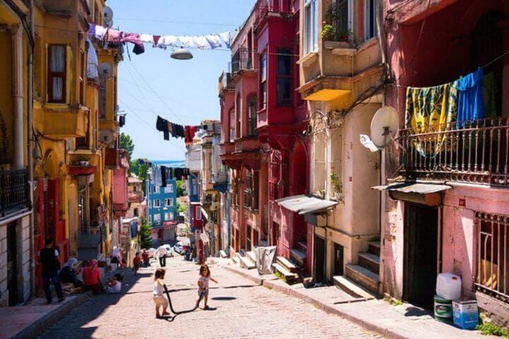 Barrios europeos para hacer turismo