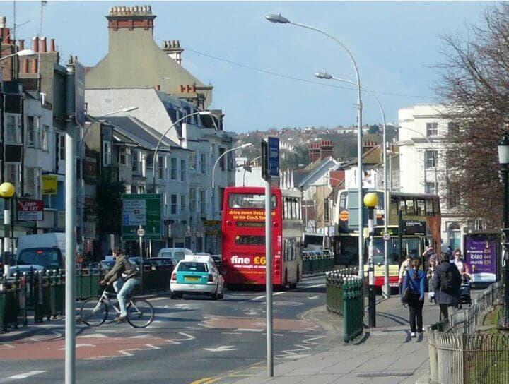 Barrios turísticos en Brighton