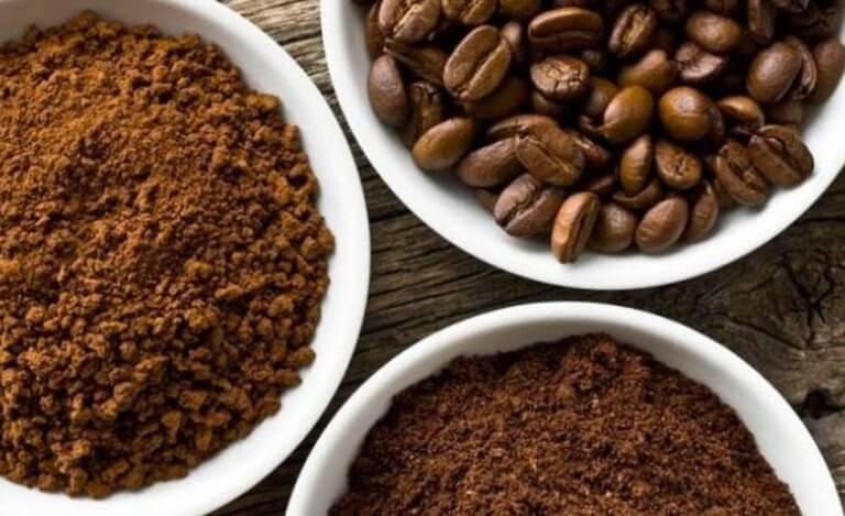 Cantidad de cafeína en el café descafeinado