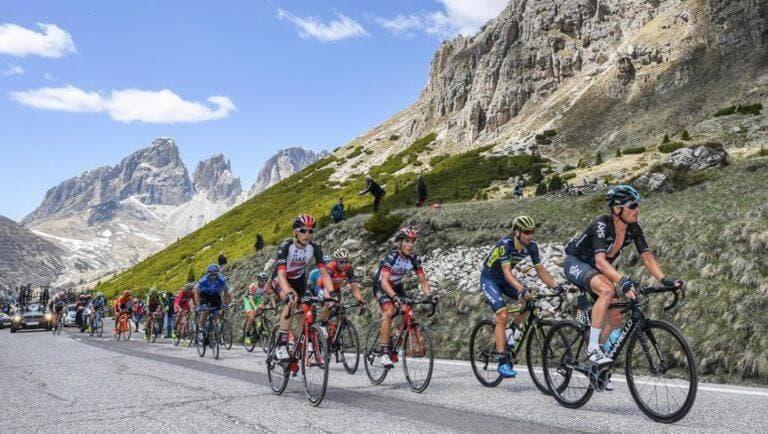Colinas más duras para subir en bicicleta