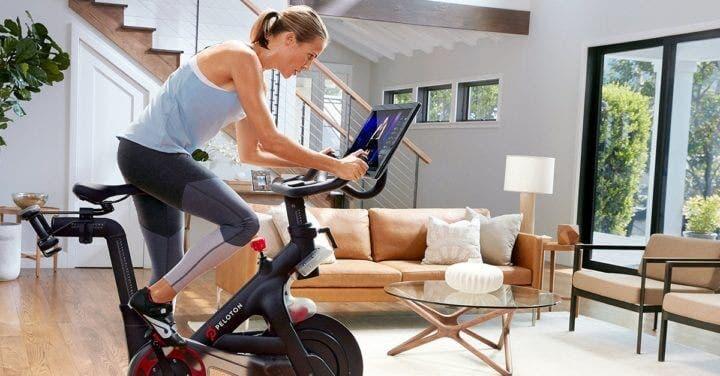Entrenamiento de ciclismo con la App Peloton Digital