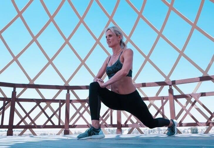 Entrenamiento para piernas con peso corporal