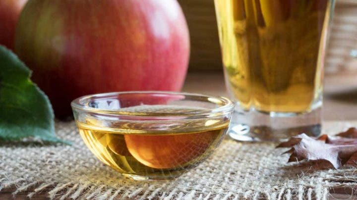 El vinagre de sidra de manzana puede causar indigestión
