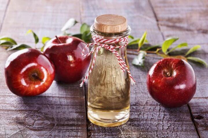 Propiedades del vinagre de sidra de manzana orgánico