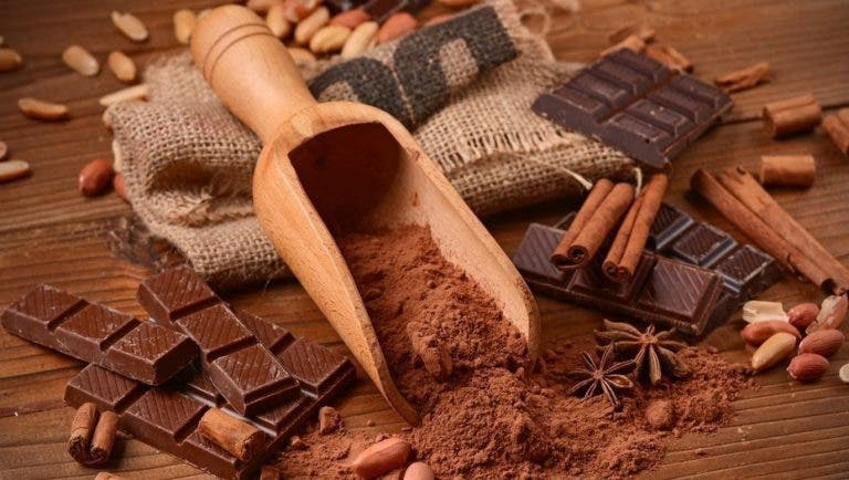 Propiedades del chocolate crudo
