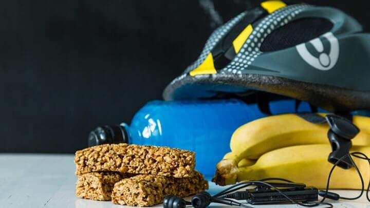 Snacks para entrenamiento de ciclismo