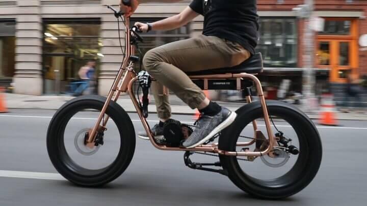 Montar en bicicleta eléctrica puede aumentar la resistencia