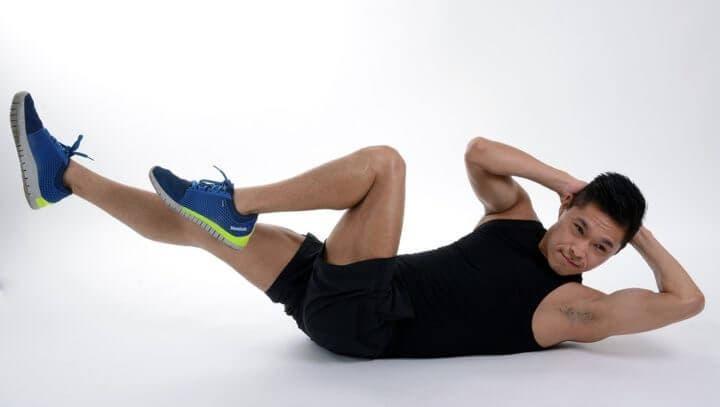Rutina de ejercicios de muy poco tiempo