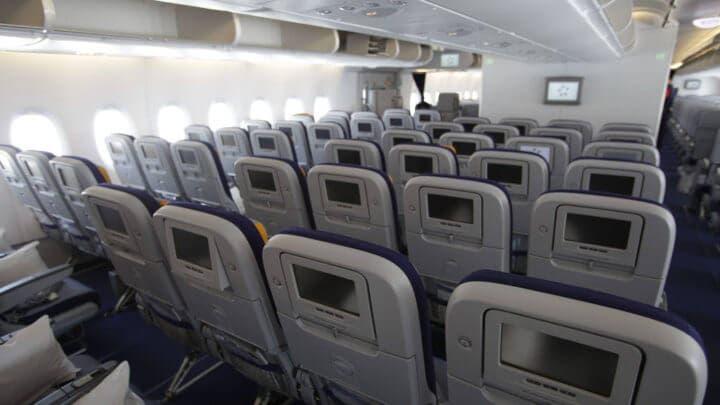 Dónde encontrar gérmenes en aviones