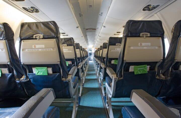 Gérmenes en los bolsillos de los asientos