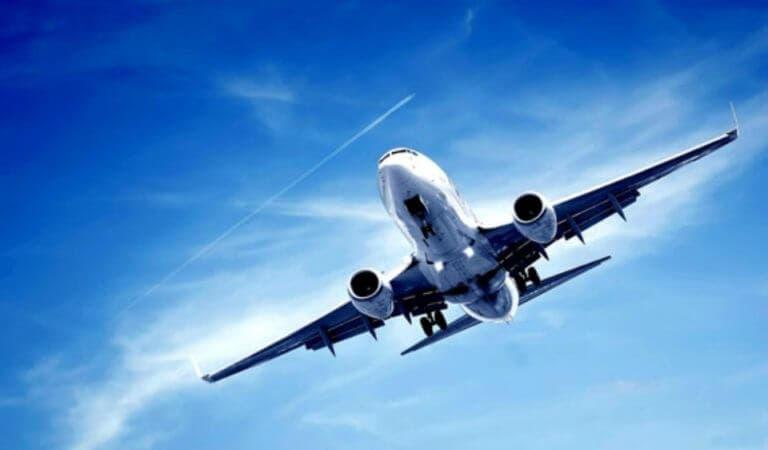 Gérmenes en los aviones