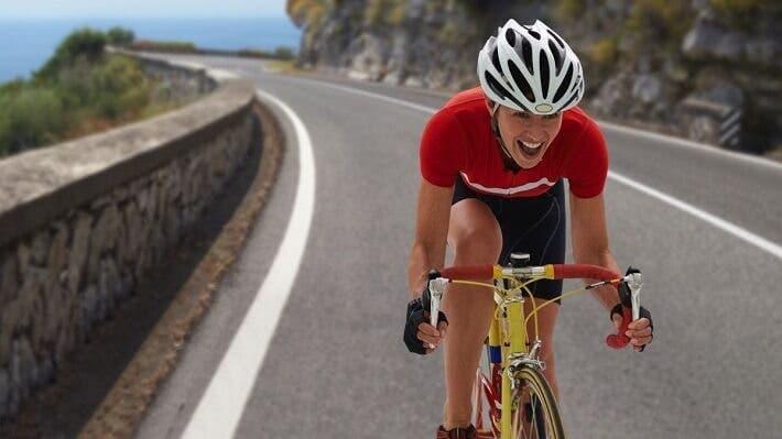 Cantidad de calorías quemadas practicando ciclismo