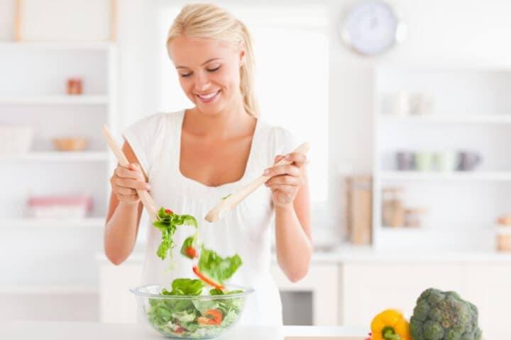 Ensalada saludable que todos pueden hacer
