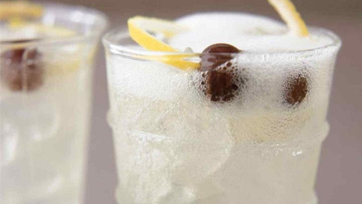 Ingredientes principales del cocktail French 75
