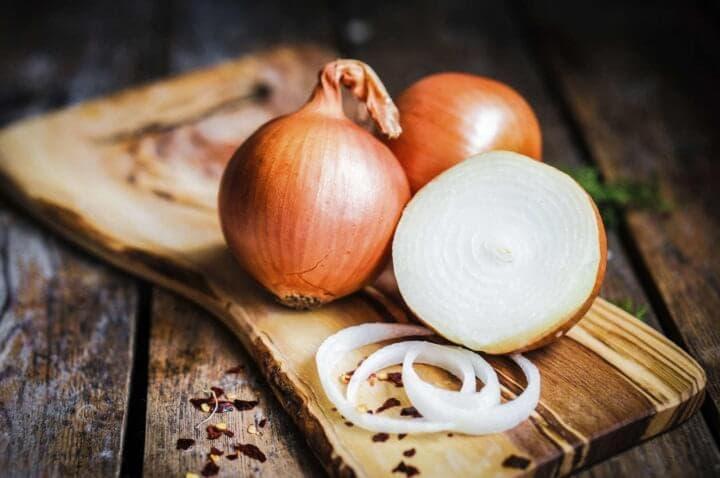 Las cebollas tienen propiedades antiinflamatorias