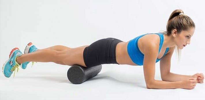 Curar el dolor de espalda con ejercicios de foam roller