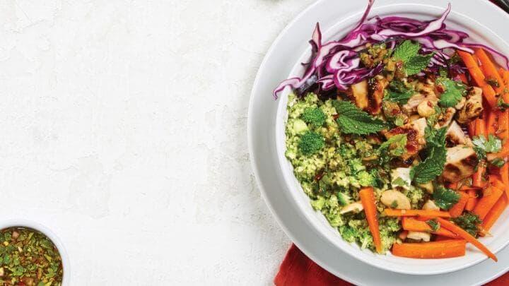Receta de ensalada con remolacha y zanahoria para cenar