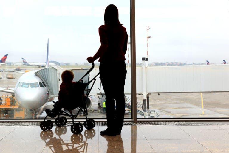 Prevención de contagios en vuelo de avión