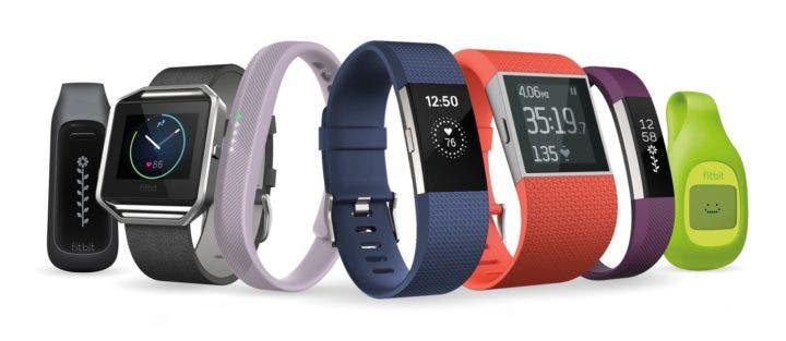 Pulseras deportivas Fitbit